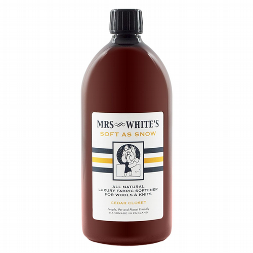 Mrs White's - Soft As Snow (Fabric Softener for Wools) 1000ml